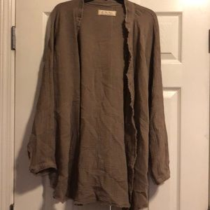 Free People - We The Free - tan/ brown cardigan